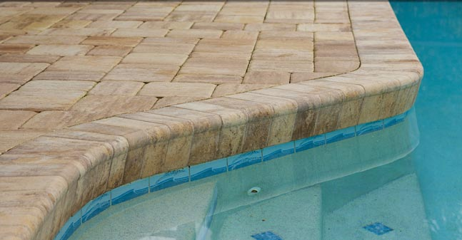 uac custom pools - pool coping - stone coping