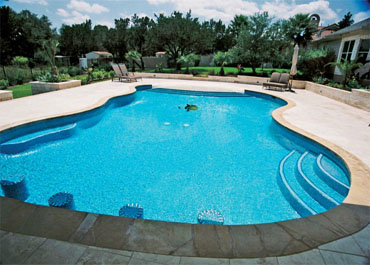 Tiled Flooring in Pool